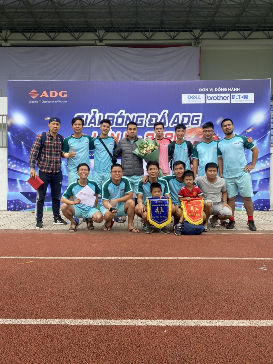 Nam Trường Sơn Hà Nội tham gia giải bóng đá ADG lần II – năm 2020